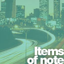 News: Items of note